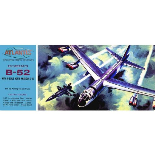 B-52 and X-15 Twin Set 1:175 Scale Model Kit